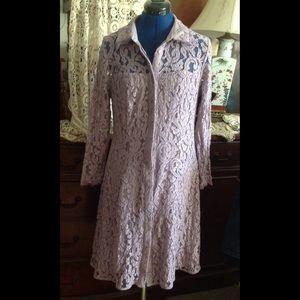 Lace Lavender Dress
